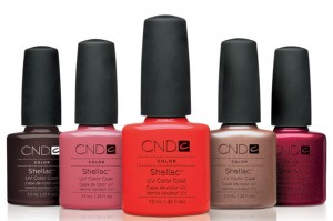 CND Shellac at J esthetics Pointe Claire