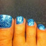 Shellac Rockstar Toes in Blue